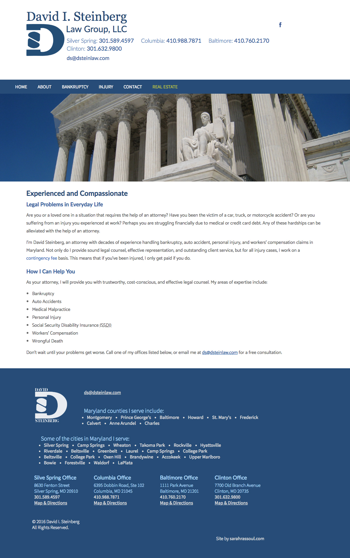 View of law website.